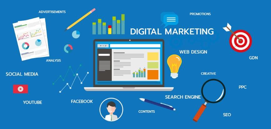 บริการด้านการตลาดออนไลน์ (Digital Marketing)