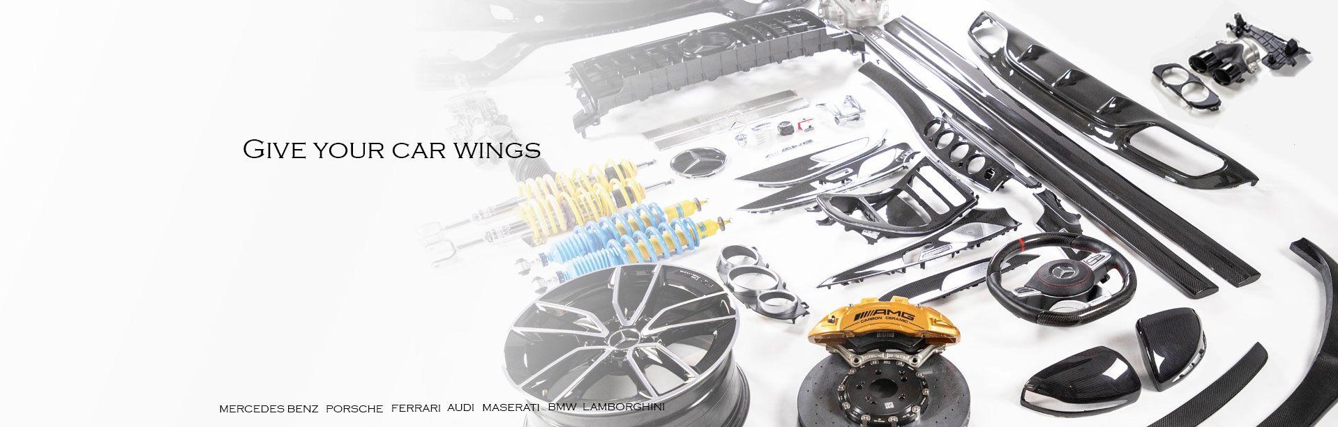 Flinstone autoparts ศูนย์รวมของแต่ง Mercedes Benz