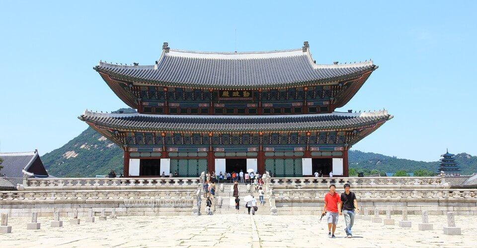 พระราชวังคยองบก (Gyeongbokgung Palace)