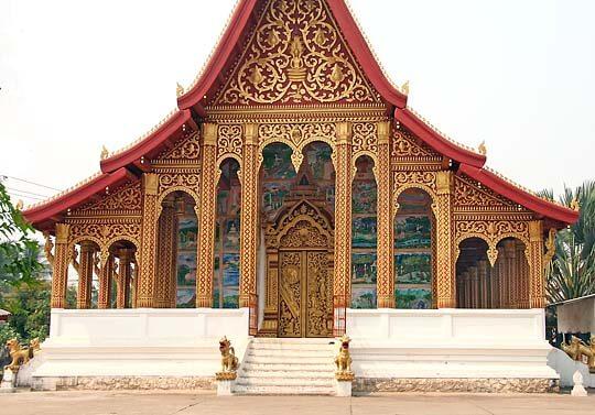 วัดมโนรมย์ (Wat Manorom), หลวงพระบาง