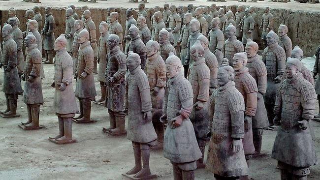 สุสานจิ๋นซีฮ่องเต้ (The Terracotta Warriors)