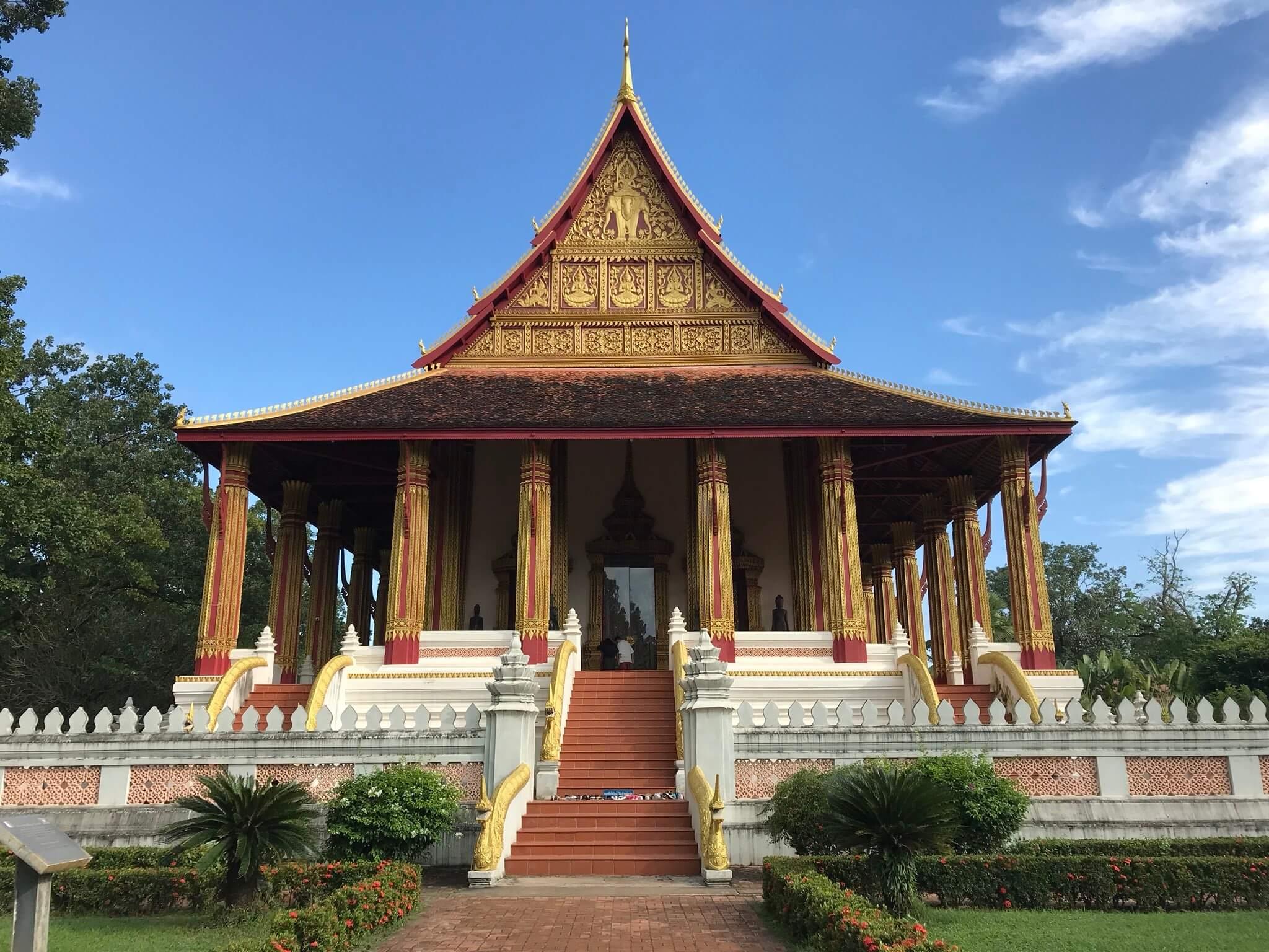 หอพระแก้ว (Ho Phra Kaew), เวียงจันทน์