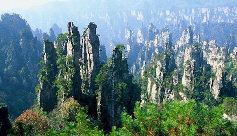 อุทยานแห่งชาติจางเจียเจี้ย ( Zhangjiajie National Forest Park)