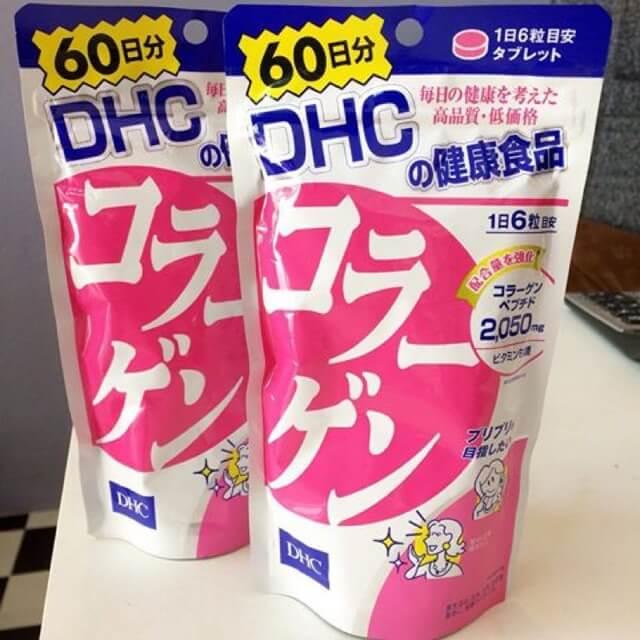 DHC Collagen 60 Days คอลลาเจน ซื้อขาย อาหารเสริมบำรุงผิวขาว