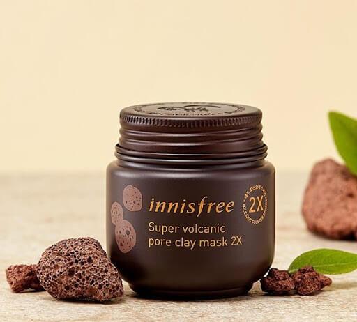 ครีมมาร์คหน้า innisfree Super Volcanic Pore Clay Mask 2X