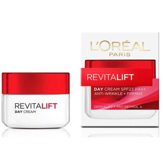 ครีมลดริ้วรอย L'OREAL Revitalift Day Cream
