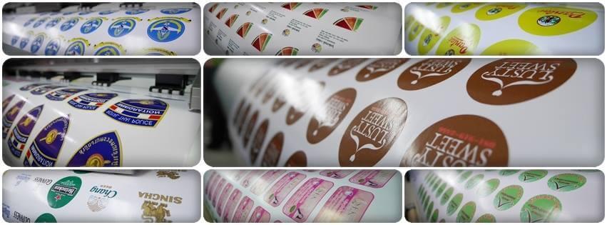 รับทำตรายาง Thai Sticker Print