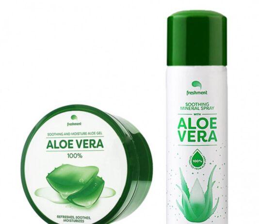 เจลว่านหางจระเข้ Freshment Soothing And Moisture Aloe Gel