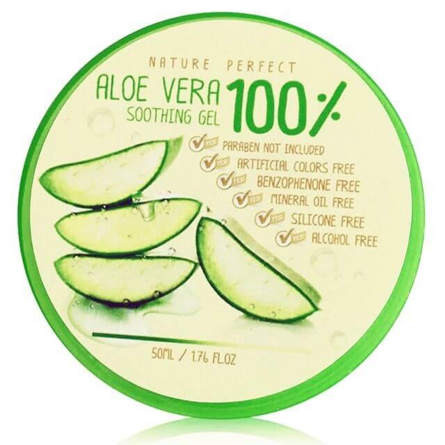 เจลว่านหางจระเข้ Nature Perfect Aloe Vera Soothing Gel