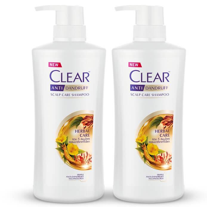 แชมพูขจัดรังแค ยี่ห้อไหนดี CLEAR Anti-Dandruff Nourishing Shampoo
