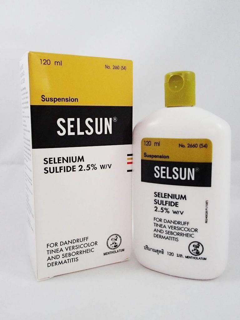 แชมพูขจัดรังแค ยี่ห้อไหนดี Selsun Anti Dandruff Shampoo