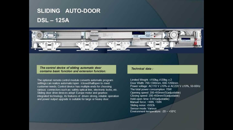 ประตูอัตโนมัติ by ASD Auto