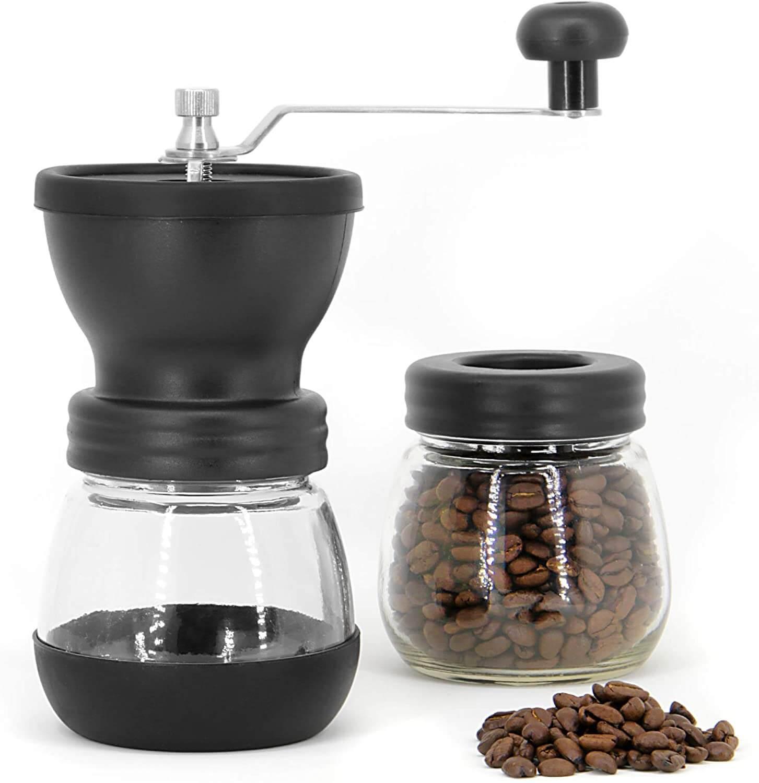 Coffee Bean Grinder เครื่องบดกาแฟมือหมุน