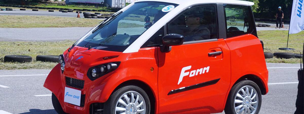 รถไฟฟ้าไซส์เล็ก FOMM FOMM One