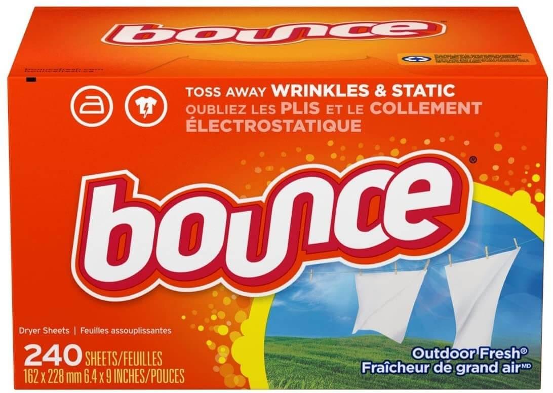 Bounce แผ่นหอมปรับผ้านุ่ม Fresh Linen Dryer Sheet 240 loads
