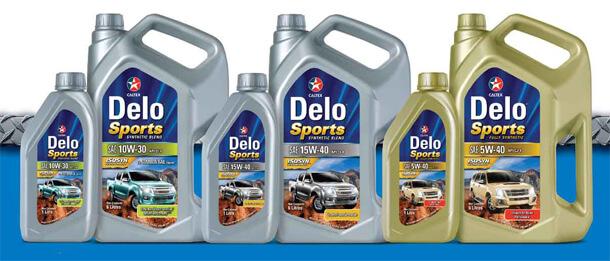 CALTEX Delo Sport Synthetic Blend