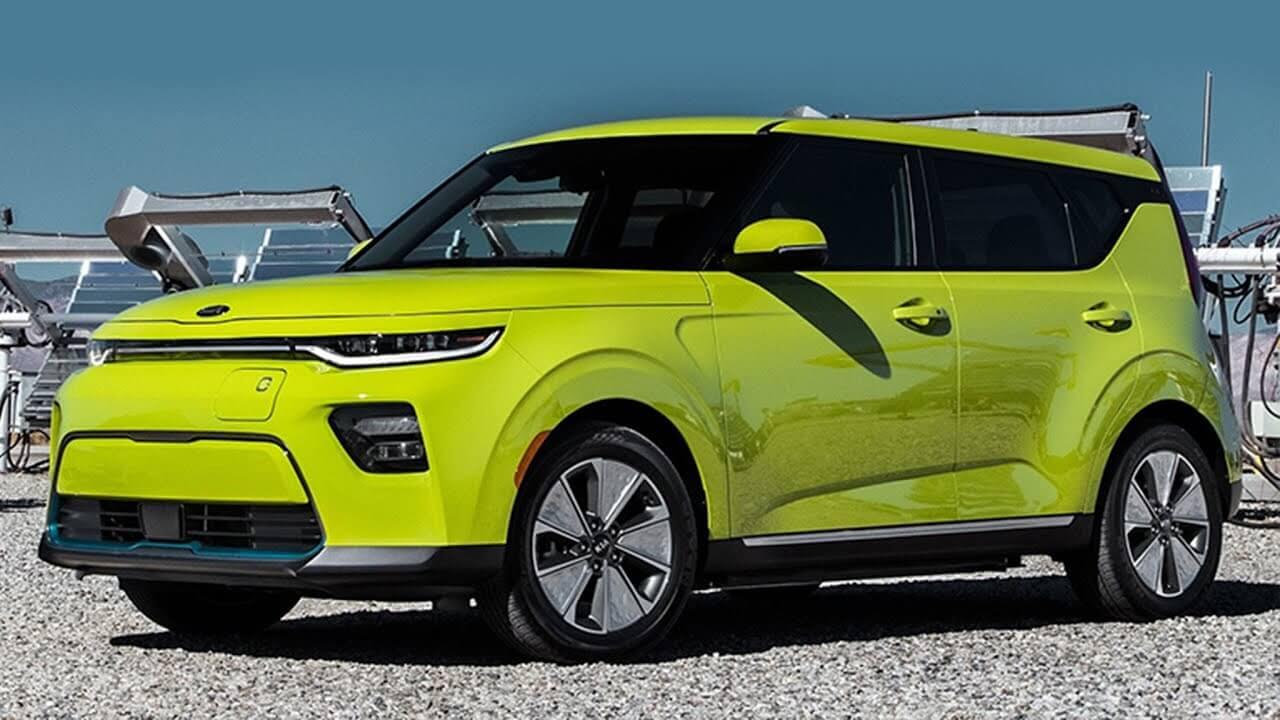 KIA Soul EV รถยนต์ไฟฟ้า