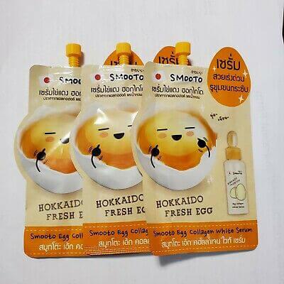 Smooto Egg Collagen White Serum