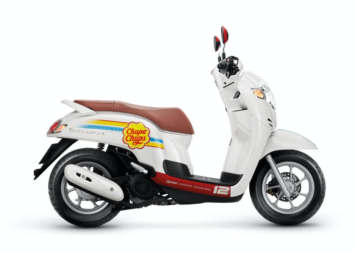 Honda รุ่น SCOOPY i Chupa Chups