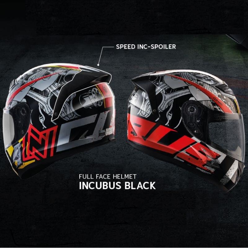 Honda H2C หมวกกันน็อค รุ่น INCUBUS