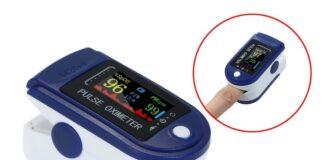 Suoer รุ่น Fingertip Oximeter เครื่องวัดความอิ่มตัวของออกซิเจน