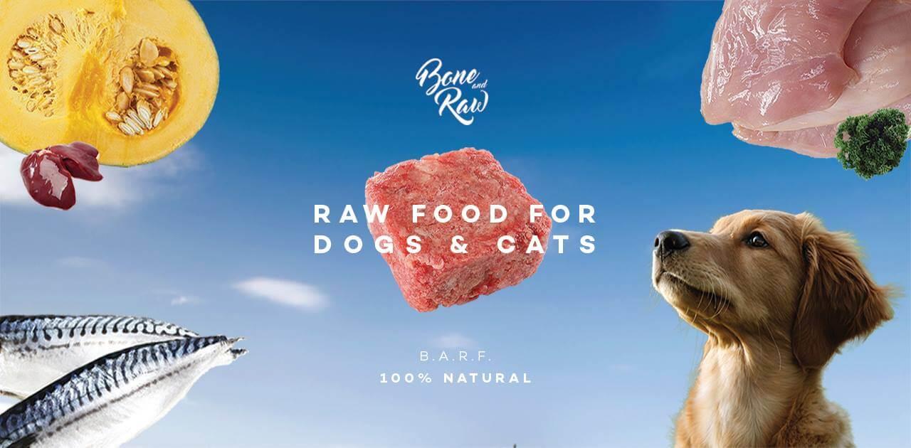 BONE AND RAW – อาหารบาร์ฟ อาหารคลีนสำหรับ สุนัข อาหารบาร์ฟ ยี่ห้อไหนดี
