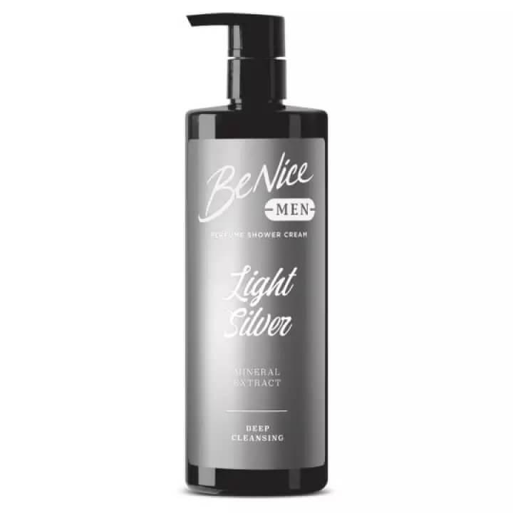ครีมอาบน้ำสำหรับผู้ชาย BeNice MEN Perfume Shower Cream