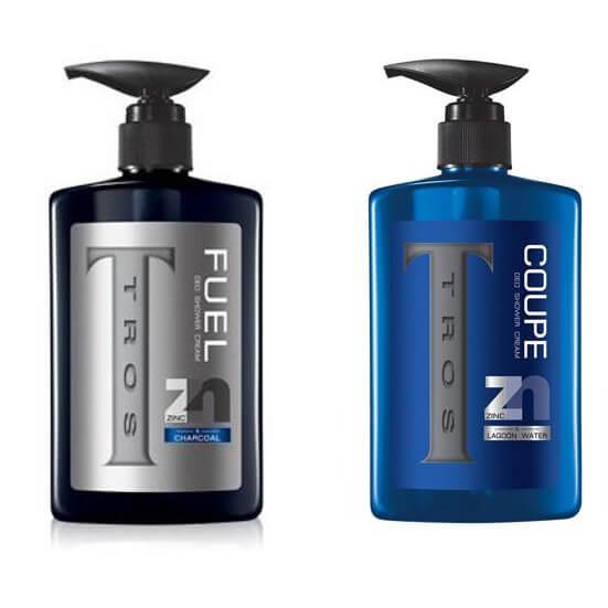 ทรอส ครีมอาบน้ำ Tros Shower Cream Zinc&Charcoal