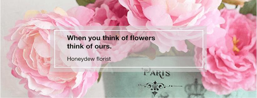 ร้านดอกไม้ Honeydew Florist บริการส่งดอกไม้ ช่อดอกไม้