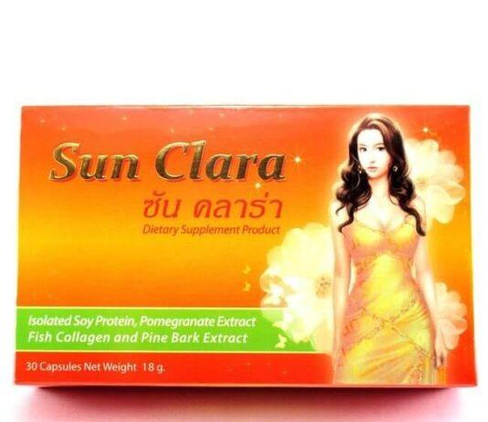 Sun Clara ซัน คลาร่า อาหารเสริมสำหรับผู้หญิง