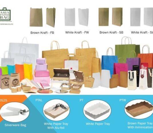 Asia Paper Bag โรงงานรับผลิตถุงกระดาษ
