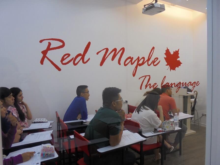 Red Maple - The Language เราคือผู้เชี่ยวชาญช่วยUPคะแนนสอบตัวจริง